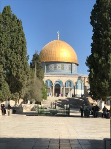 8 Dome of the Rock from Al-Aqsa