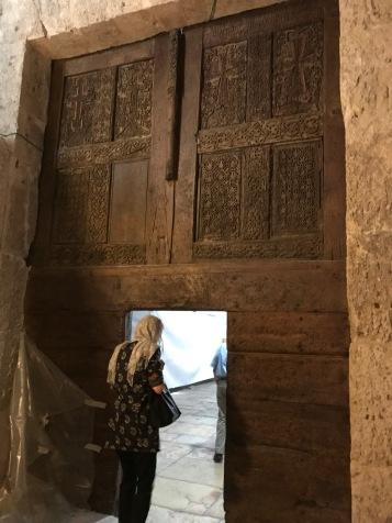 A beautiful Armenian inner door