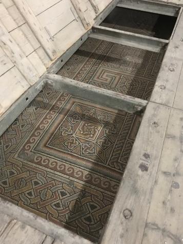 The 4th Century mosaic floor