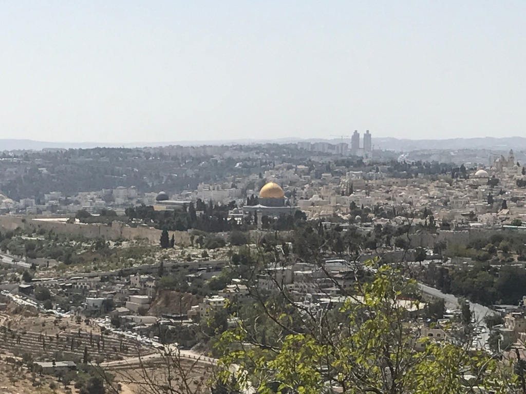 Mt. Scopus W al-Aqsa Mosque and Dome of the Rock