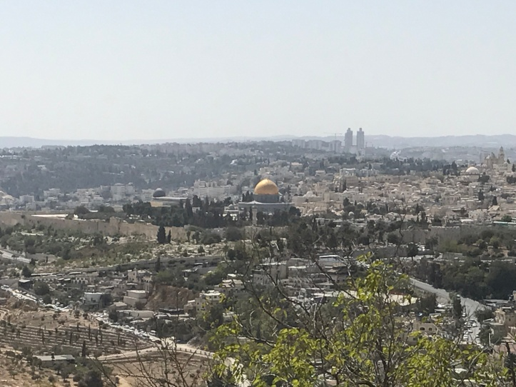 Mt. Scopus W al-Aqsa Mosque and Dome of the Rock