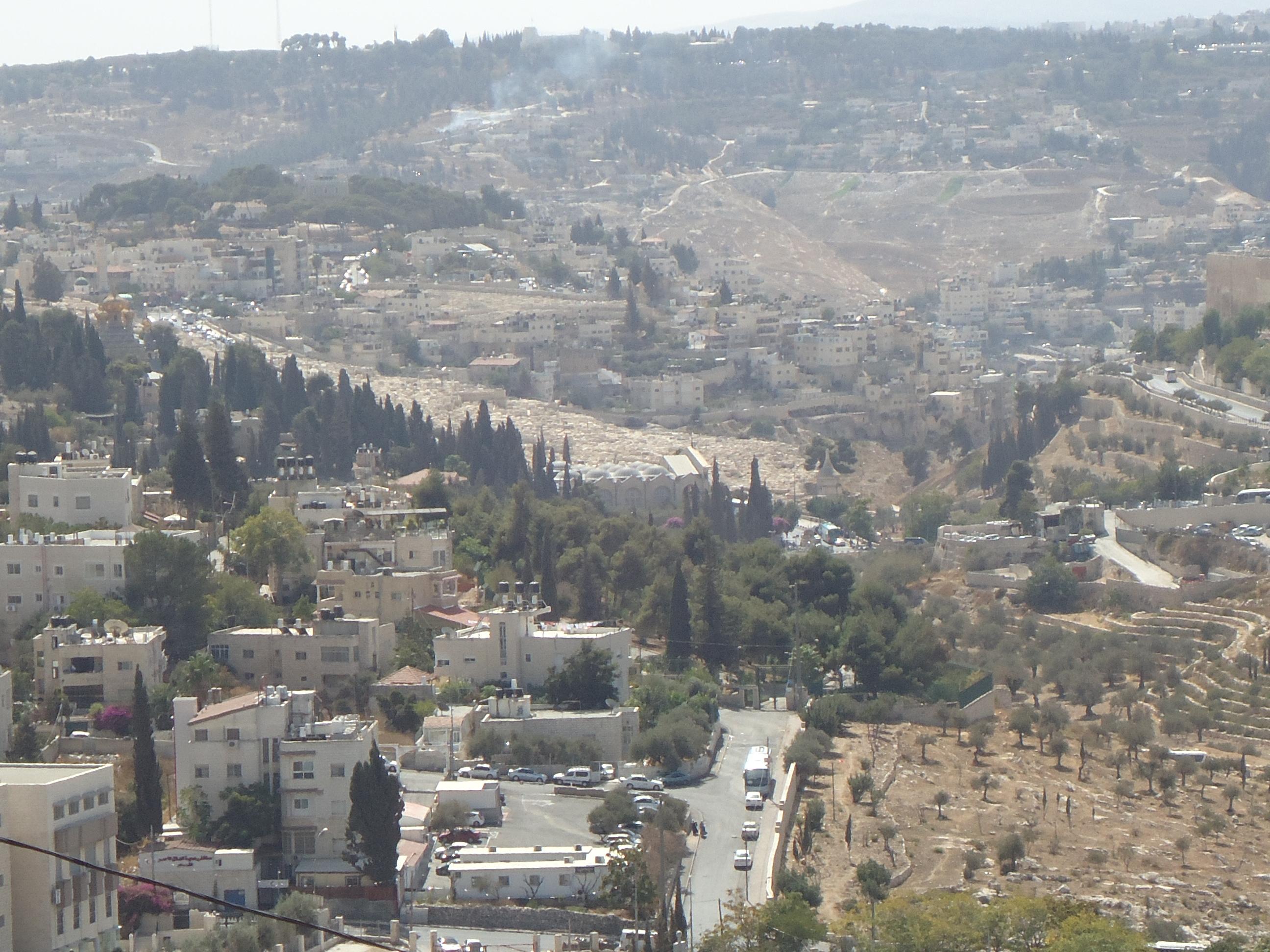 Mt. Scopus W Garden of Gethsemane