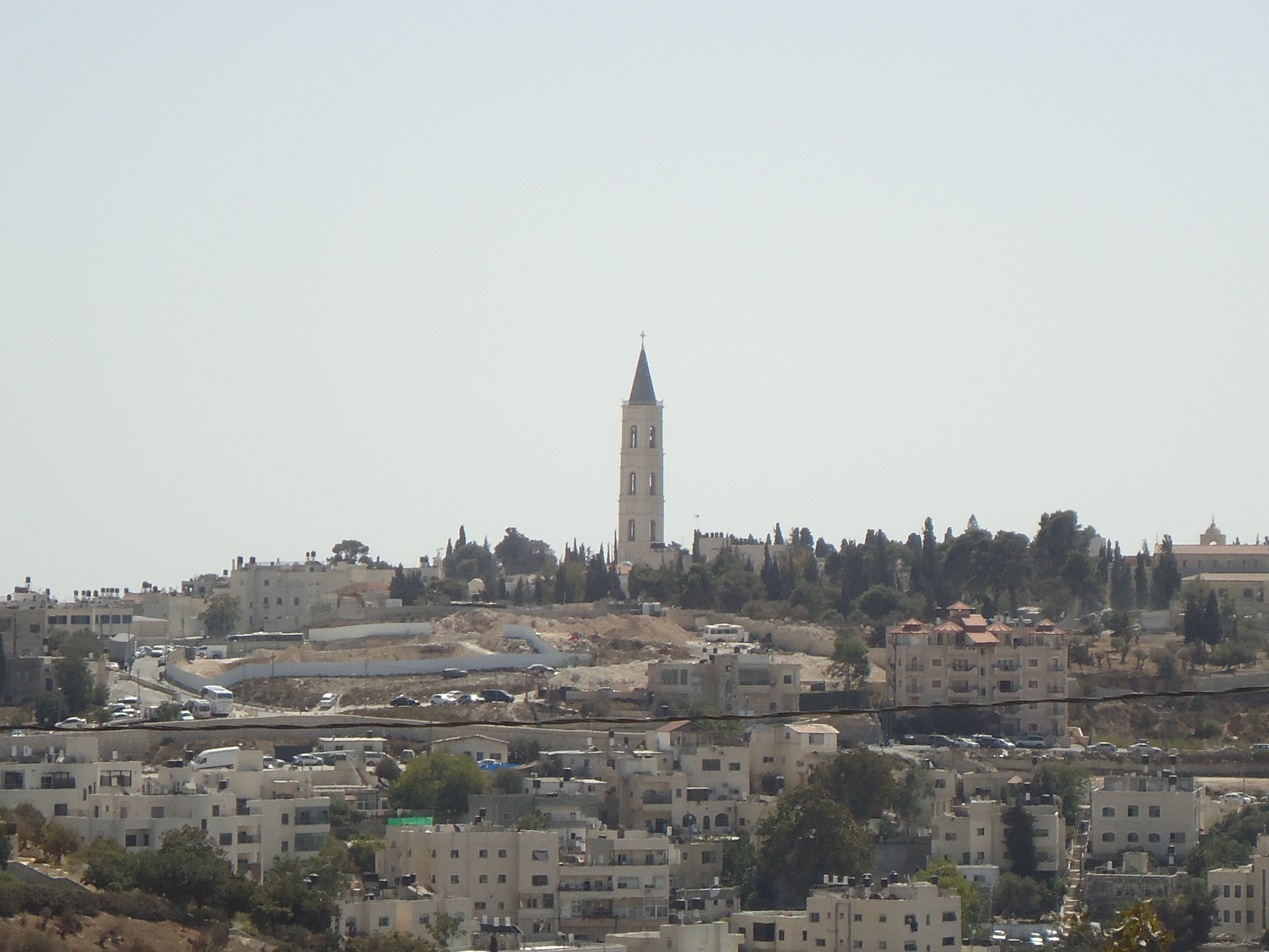 Mt. Scopus W Mt. of Olives; Church of the Ascension (Greek Orthodox)